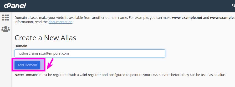 Cómo crear una URL temporal