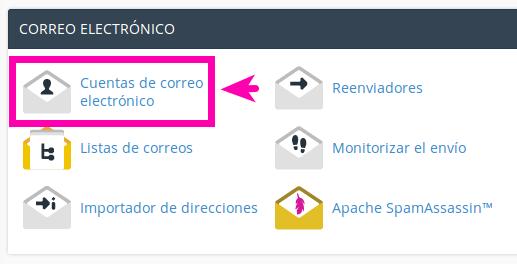 ¿Como crear cuentas de email en cPanel?