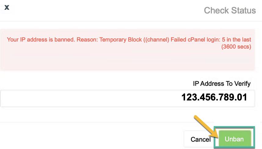 Desbloquear mi IP de navegación
