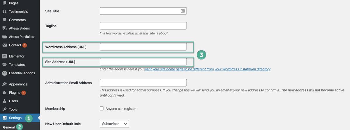 ¿Cómo cambiar el dominio en WordPress?