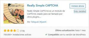 Captcha en WordPress Really Simple CAPTCHA Centro de Ayuda NUTHOST