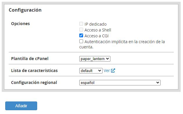 ¿Cómo crear planes de hosting en WHM?