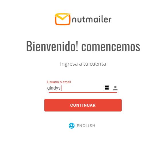 Listas de Segmentación en NutMailer paso 1 Centro de ayuda NUTHOST