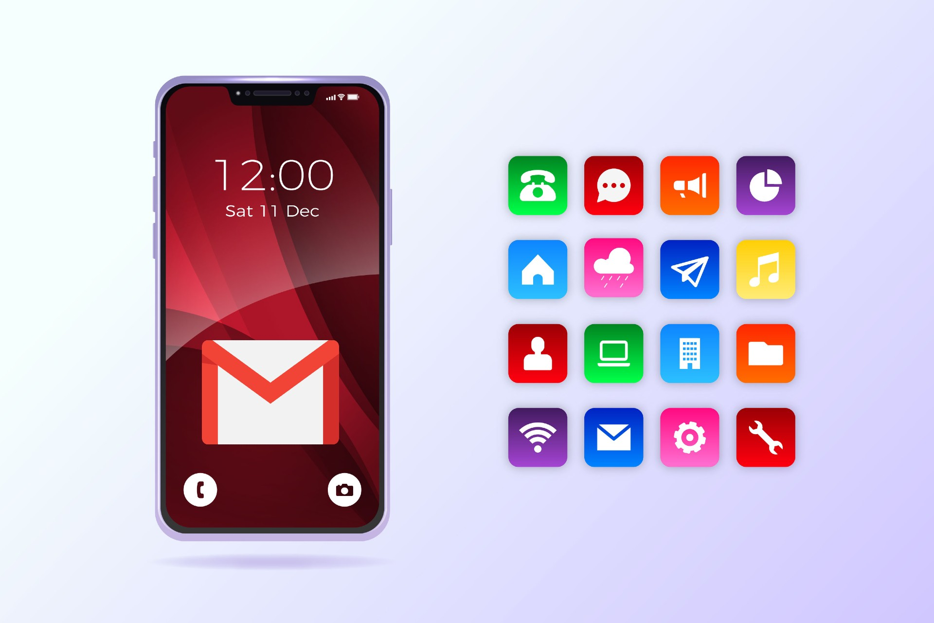 Correo iPhone App Gmail